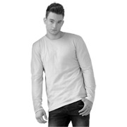 Men's Fine Jersey Long Sleeve Tee