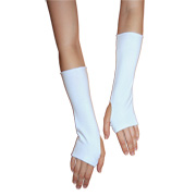 Cotton Lycra Wrist and Arm Warmers