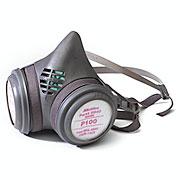 Deluxe Rubber Respirator