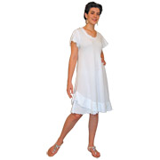 Gauze Flutter Dress