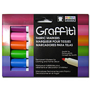 Graffiti Fabric Marker Sets