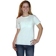 Hanes Women's Low Crew Neck T-shirt
