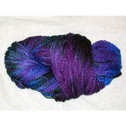 Hand Painted (aka space dyed) Cotton Yarn