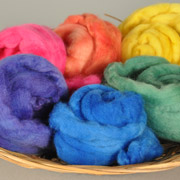 Roving Rainbow with Dharma Acid Dyes Tutorial