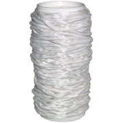 White Silk Rolled Cord - 22 Yard Spool