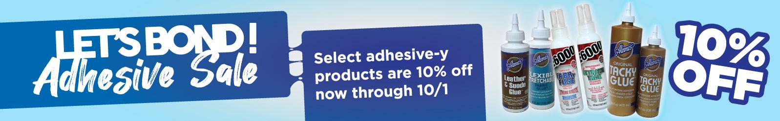 Adhesive Sale