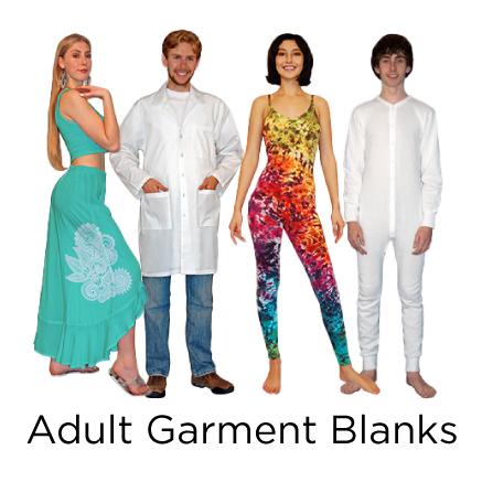 Halloween: Adult garment blanks