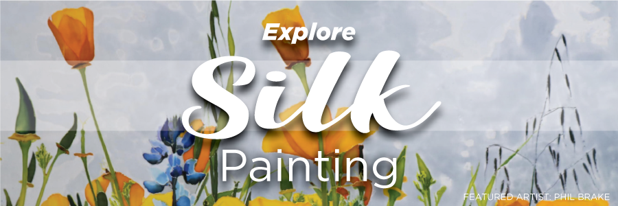 "Explore Silk Painting"" border="