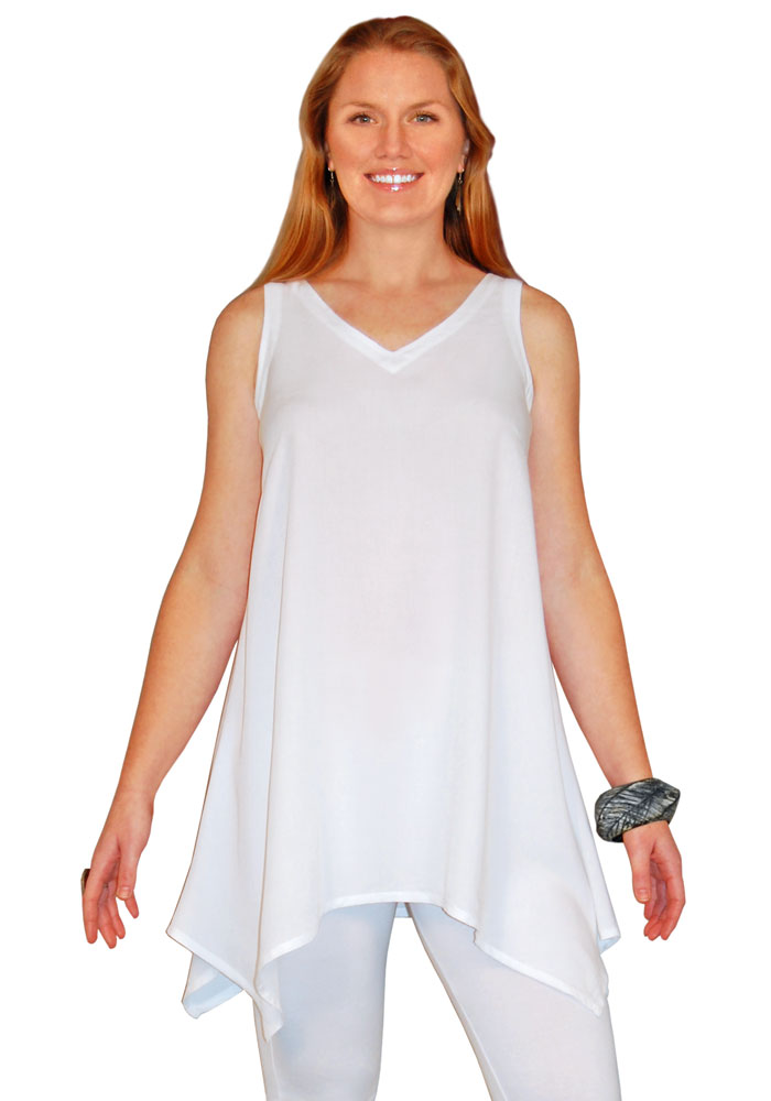 aac65e6a5721cd Asymmetric Rayon Tank Tunic. Our  1 Best Selling Tank Top!