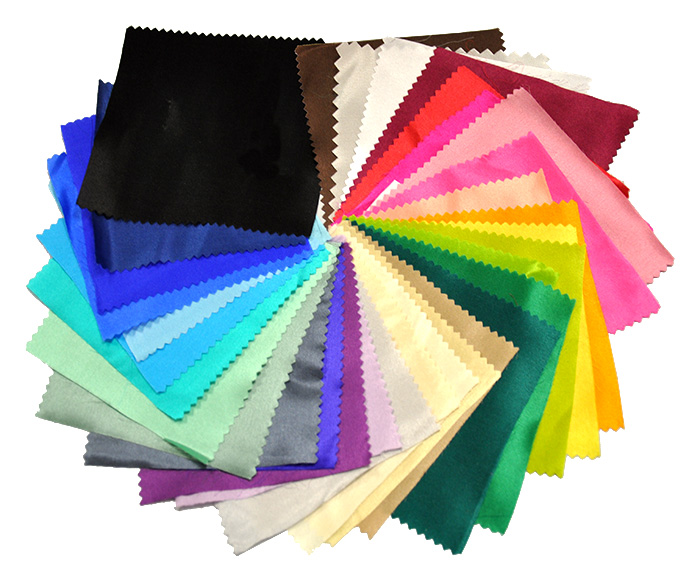 099d656f7b9a0 Colored Silk Fabric Sample Packs