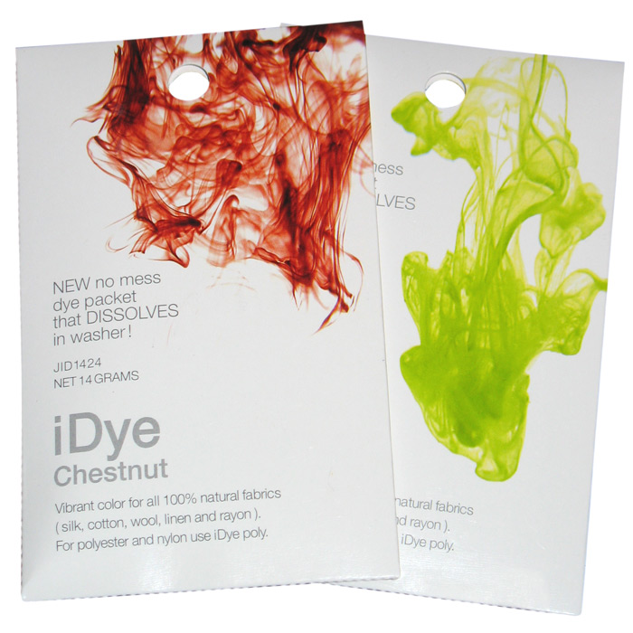 iDye for Natural and Poly Fabrics - Quick and Easy!