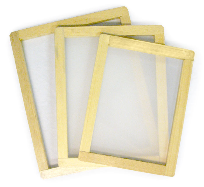 jacquard blank screen frames