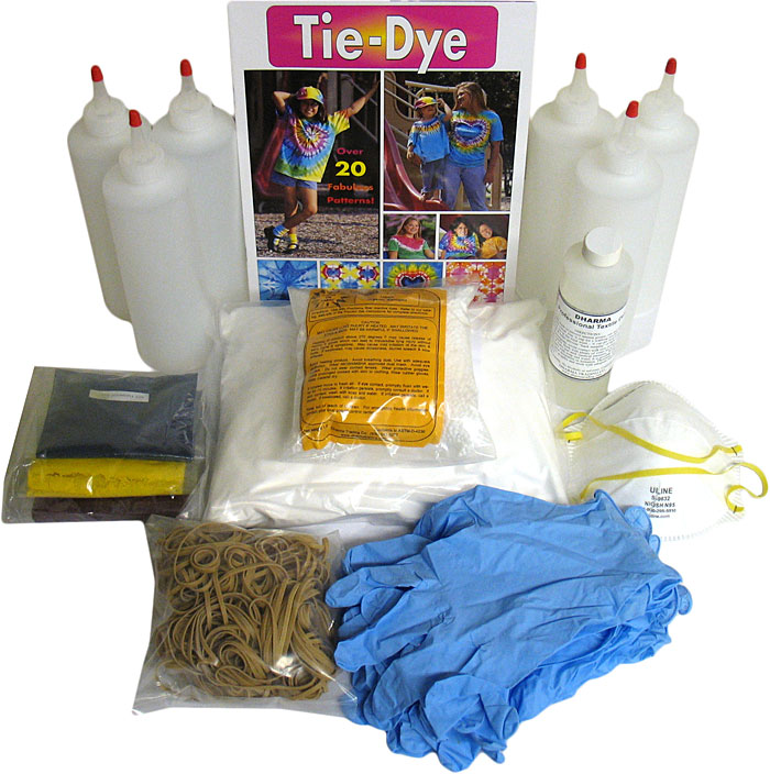 Tie Dye Little Group Kit