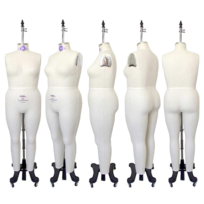 Plus Size Full Body Dress Forms