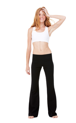 Bella Cotton Spandex Fitness Pants