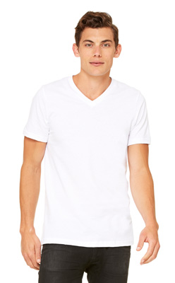 Canvas Unisex V-Neck T-Shirt