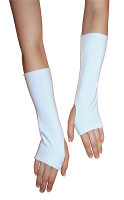 Cotton Spandex Wrist and Arm Warmers