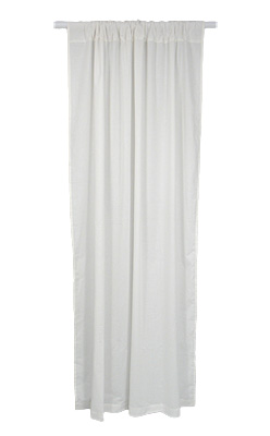 "Cotton Curtain Panel 55"" x 84"""