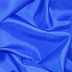 "Electric Blue Silk Habotai 8mm 45"""
