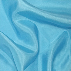 "Turquoise Silk Habotai 8mm 45"""