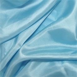 """Frozen Blue Silk Habotai 8mm 45"""""""