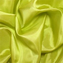"Chartreuse Silk Habotai 8mm 45"""