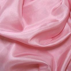 """Rose Pink Silk Habotai 8mm 45"""""""