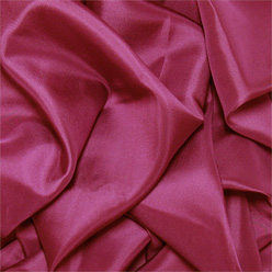 "Burgundy Silk Habotai 8mm 45"""