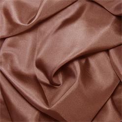 "Chocolate Brown Silk Habotai 8mm 45"""