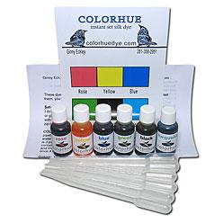 Colorhue Silk Dyes -  6 Color Set