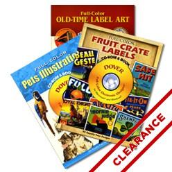 Dover Clip Art CD Books