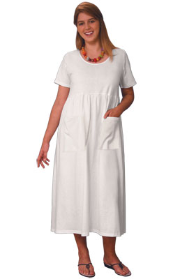 Farmer's Dress - Short Sleeve