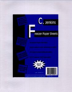 "Jenkins 50 Industrial Freezer Paper Sheets 8.5/"" x 11/"" White C"