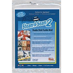 Double Stick Fusible Web - Pack of Five 9x12 sheets