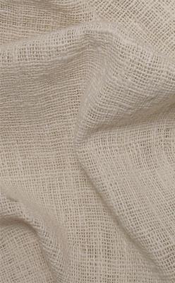"Handspun Handwoven Natural Fabric 47"""