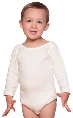 Organic/Fair Trade Infant One-Piece - Long Sleeve
