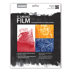 """Jacquard SolarFast Film - 8.5"""" x 11"""""""