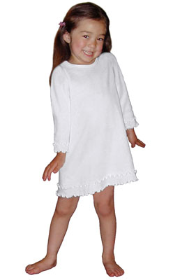 Double Ruffle Dress - Long Sleeve