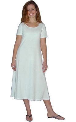Mid-Calf Play Dress Short Sleeve