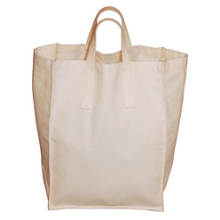 Cotton Duck Paper Grocery Bag Tote
