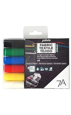 Pebeo Fabric Marker Sets