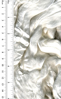 White Tencel Top Roving