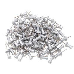 Rust Resistant Push Pins - pack of 100