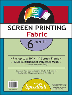 Speedball Screen Printing Fabric