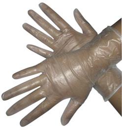 Short Vinyl Gloves