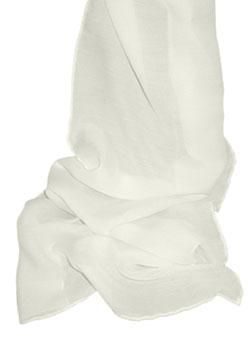 Silk/Wool Blend Scarves - 63% silk, 37% wool