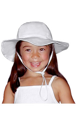 Child's Wide Brim Sun Hat