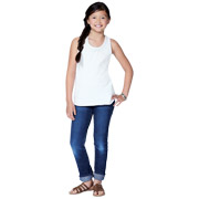 Girl's Relaxed Racer Back Tank