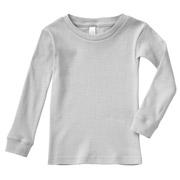 Youth Long Sleeve Baby Rib Pajama Top