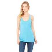 BELLA LADIES TRIBLEND RACERBACK TANK